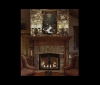 Riverbend shown over a fireplace